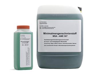 Minimalmengenschmierstoffe in 1- und 10-Liter-Gebinden